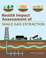 Cover of Health Impact Assessment of Shale Gas Extraction