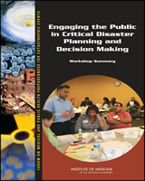 Cover of Engaging the Public in Critical Disaster Planning and Decision Making