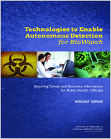 Cover of Technologies to Enable Autonomous Detection for BioWatch