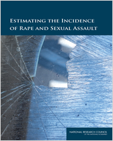 Cover of Estimating the Incidence of Rape and Sexual Assault