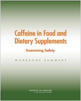 Cover of Caffeine in Food and Dietary Supplements: Examining Safety
