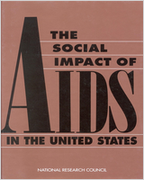Cover of The Social Impact Of AIDS In The United States