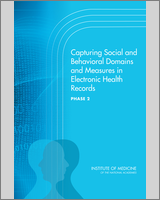 Cover of Capturing Social and Behavioral Domains and Measures in Electronic Health Records