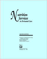 Cover of Nutrition Services in Perinatal Care