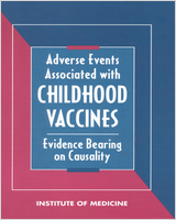Cover of Adverse Events Associated with Childhood Vaccines