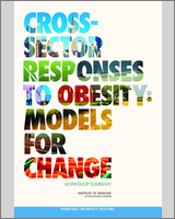 Cover of Cross-Sector Responses to Obesity