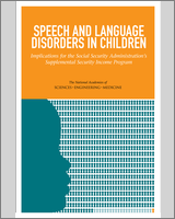 Cover of Speech and Language Disorders in Children