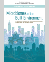 Cover of Microbiomes of the Built Environment