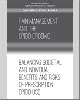 Cover of Pain Management and the Opioid Epidemic