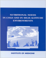 Cover of Nutritional Needs In Cold And In High-Altitude Environments