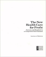 Cover of The New Health Care for Profit
