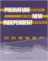 Cover of Premature Death in the New Independent States