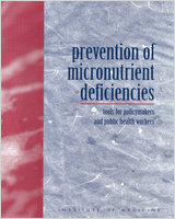 Cover of Prevention of Micronutrient Deficiencies