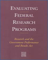 Cover of Evaluating Federal Research Programs