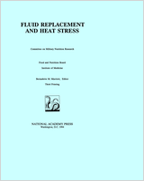 Cover of Fluid Replacement and Heat Stress