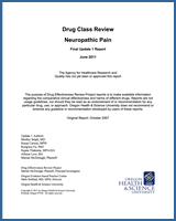 Cover of Drug Class Review: Neuropathic Pain