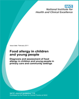 Cover of Food Allergy in Children and Young People