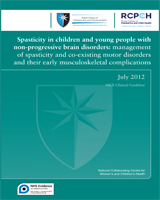 Cover of Spasticity in Children and Young People with Non-Progressive Brain Disorders