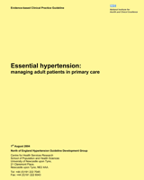 Cover of Essential Hypertension