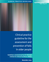 Cover of Clinical Practice Guideline for the Assessment and Prevention of Falls in Older People