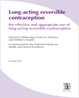 Cover of Long-acting Reversible Contraception