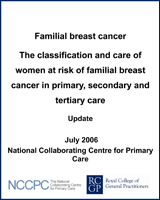Cover of Familial Breast Cancer