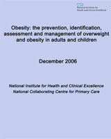 Cover of Obesity: The Prevention, Identification, Assessment and Management of Overweight and Obesity in Adults and Children