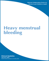 Cover of Heavy Menstrual Bleeding