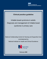 Cover of Irritable Bowel Syndrome in Adults