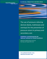 Cover of The Use of Pressure-Relieving Devices (Beds, Mattresses and Overlays) for the Prevention of Pressure Ulcers in Primary and Secondary Care