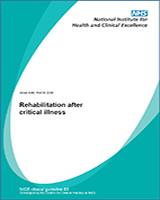 Cover of Rehabilitation After Critical Illness