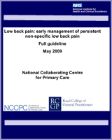 Cover of Low Back Pain