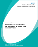 Cover of Donor Breast Milk Banks