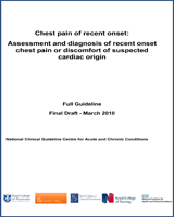 Cover of Chest Pain of Recent Onset