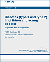 Cover of Diabetes (Type 1 and Type 2) in Children and Young People