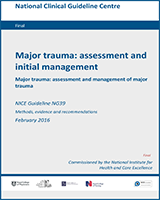 Cover of Major Trauma: Assessment and Initial Management