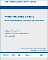 Cover of Motor Neurone Disease: Assessment and Management