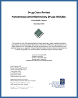 Cover of Drug Class Review: Nonsteroidal Antiinflammatory Drugs (NSAIDs)