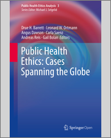 Cover of Public Health Ethics: Cases Spanning the Globe