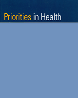 Cover of Priorities in Health