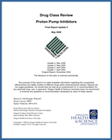Cover of Drug Class Review: Proton Pump Inhibitors