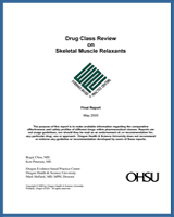 Cover of Drug Class Review: Skeletal Muscle Relaxants