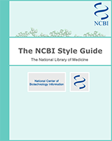 Cover of The NCBI Style Guide