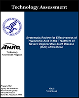 Systematic Review for Effectiveness of Hyaluronic Acid in