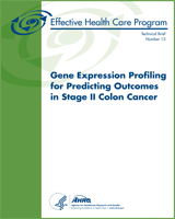 Cover of Gene Expression Profiling for Predicting Outcomes in Stage II Colon Cancer
