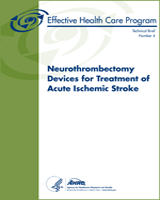 Cover of Neurothrombectomy Devices for Treatment of Acute Ischemic Stroke