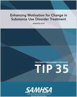Cover of Enhancing Motivation for Change in Substance Abuse Treatment