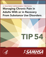 Cover of Managing Chronic Pain in Adults With or in Recovery From Substance Use Disorders