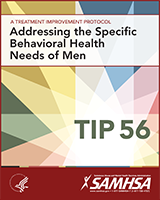 Cover of Addressing the Specific Behavioral Health Needs of Men