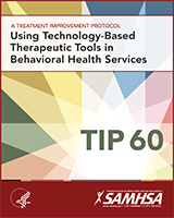 Cover of Using Technology-Based Therapeutic Tools in Behavioral Health Services